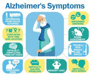 Seniors with Alzheimer's