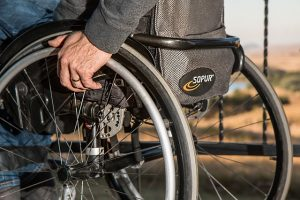 Wheelchair Usage for burial insurance