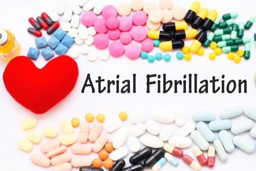 prescription questions for burial insurance with afib